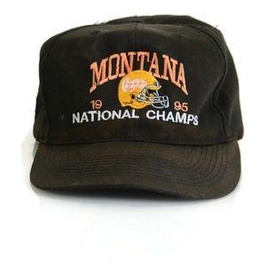 Vintage 1995 Montana Grizzlies Snapback